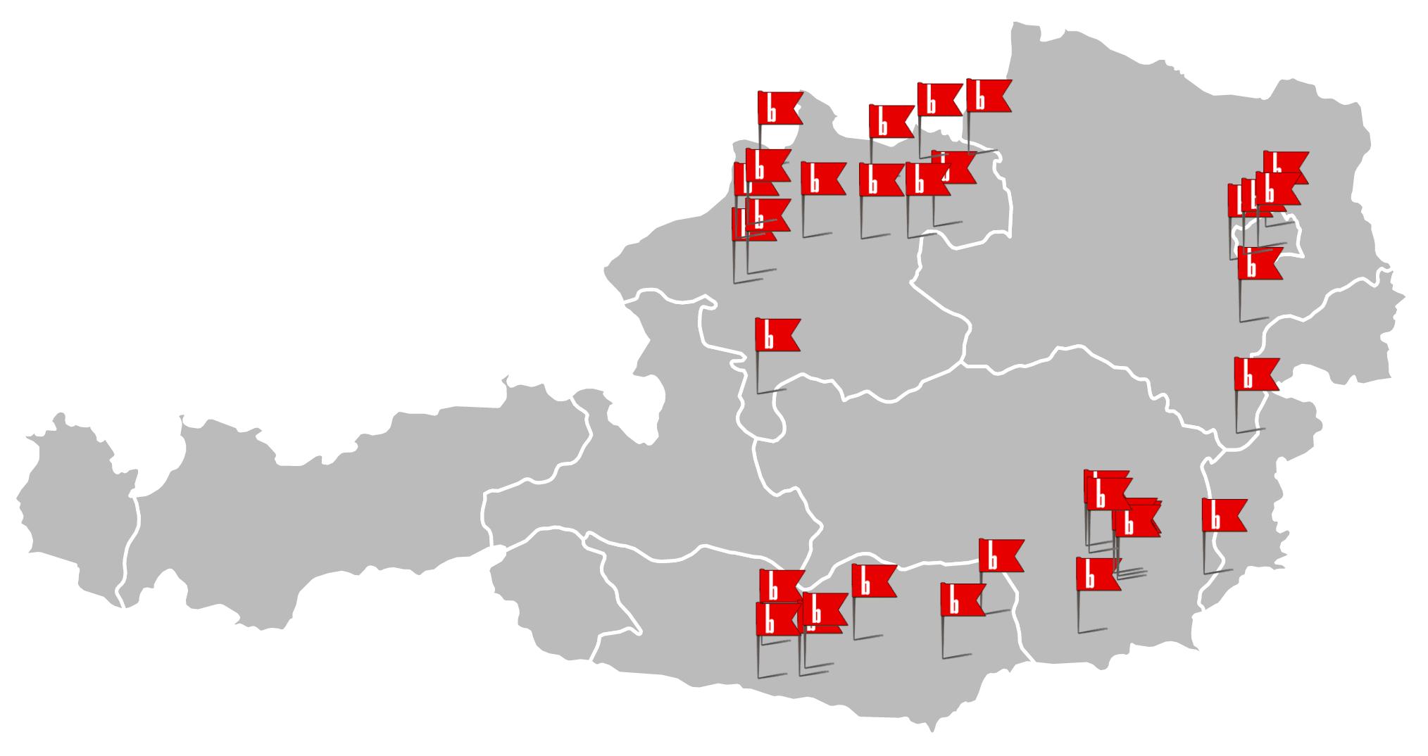 Deutschlandkarte Montagepoints