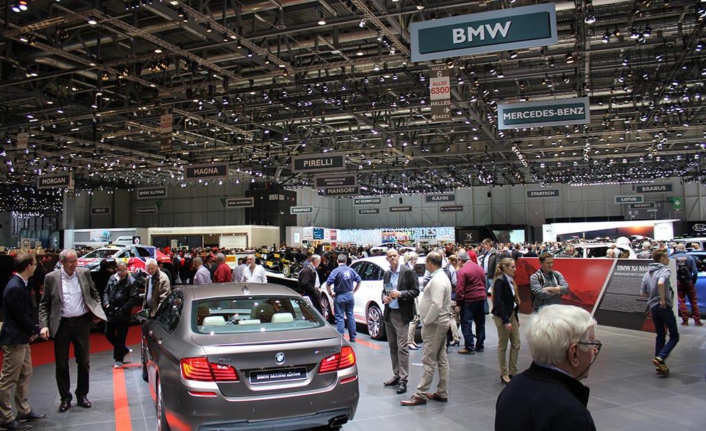 BMW hatte einiges zu präsentieren und der Messestand war immer gut besucht.