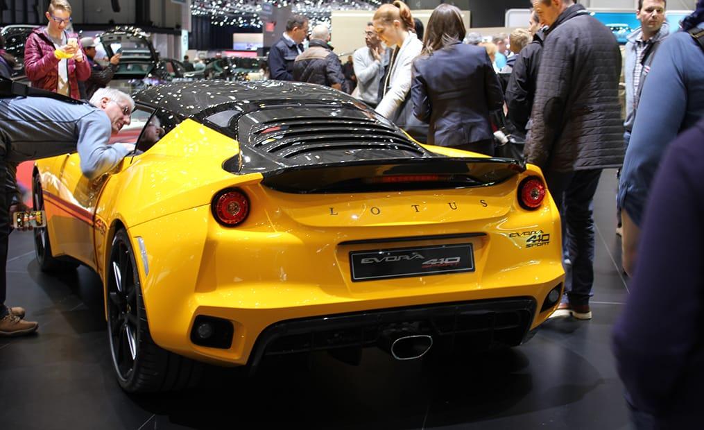 Der Lotus Evora Sport 410 ist die überarbeitet Version des 400 und soll mit weniger Gewicht die 416 PS in 4,2 Sekunden auf Tempo 100 bringen.