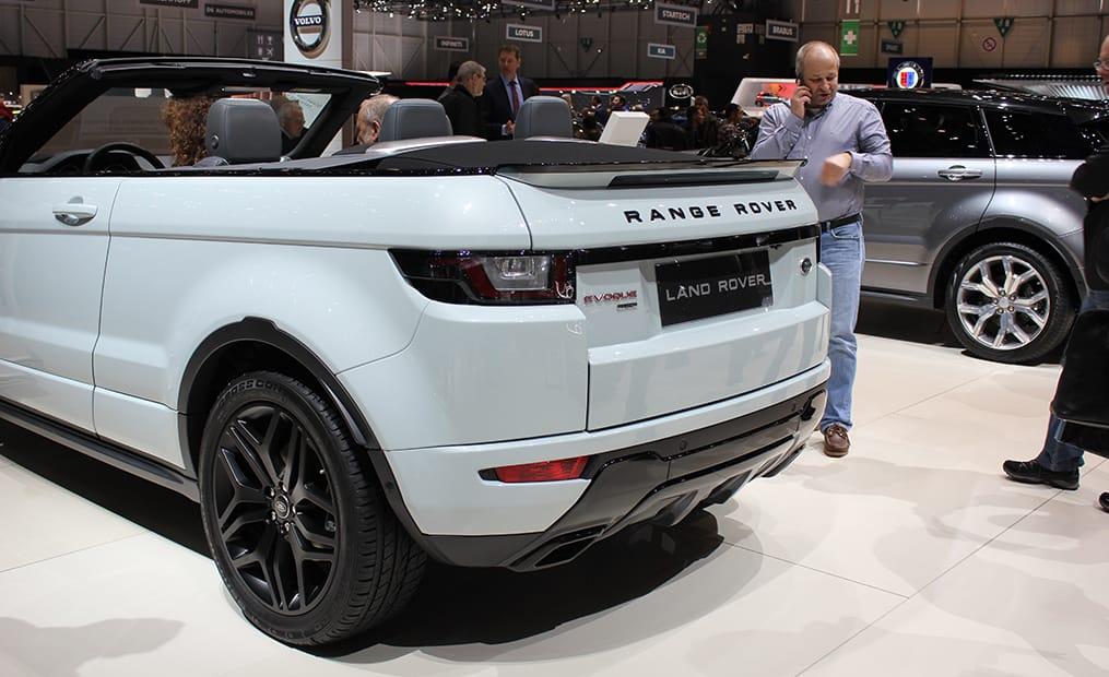 Das Range Rover Evoque Cabrio ist das erste offene SUV seiner Klasse und ein echtes Schmuckstück.