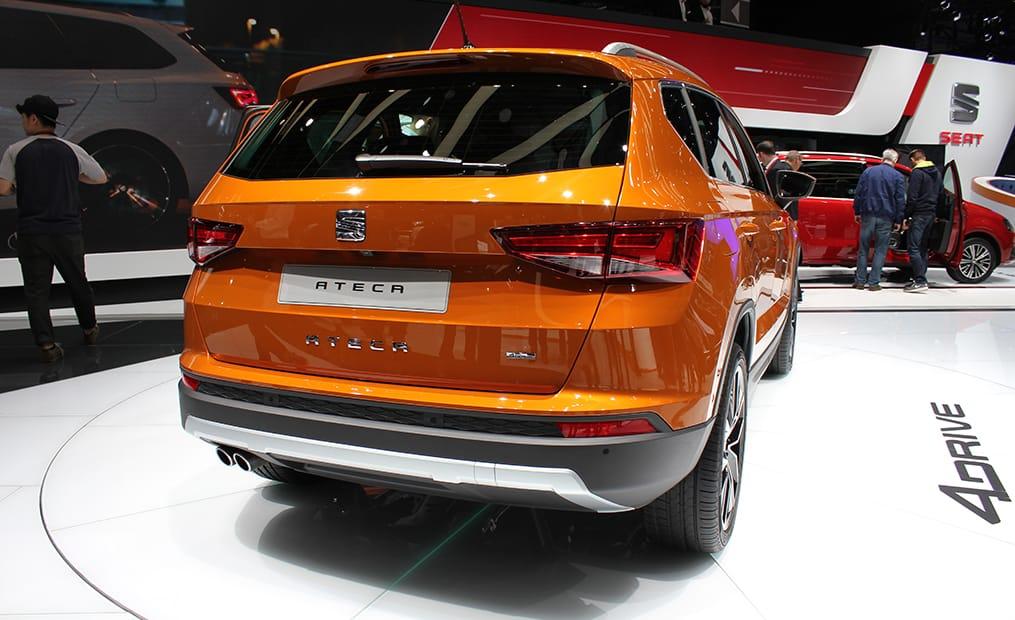Der Ateca ist der erste SUV aus dem Hause Seat. Der neue Ateca ist 4,36 Meter lang und erinnert optisch an das spanische Erfolgsmodell Leon.