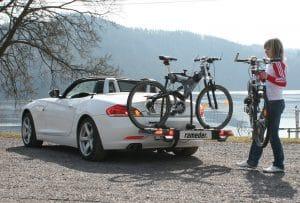 Reisevorbereitungen - Fahrradträger