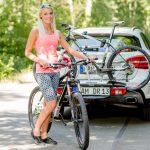 Fahrradträger Cykell Just Click T21 im Einsatz