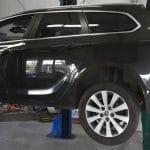 Opel Astra zur Montage einer Anhängerkupplung