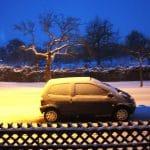 Im Winter leidet das Auto