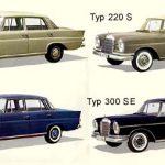 Viel Platz und diverese Motoren - W110 und W111