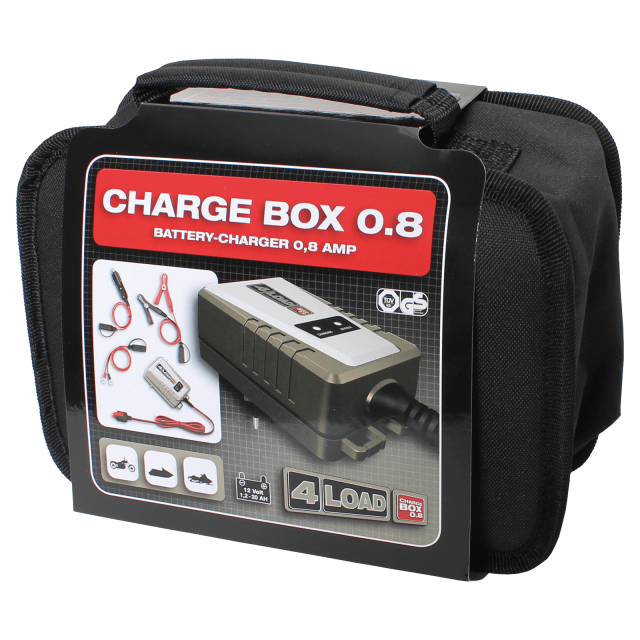 Batterieladegerät Charge Box 0.8