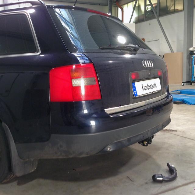 Für Audi A6 Limousine 97 13polig E-Satz neu AUTO HAK Anhängerkupplung starr