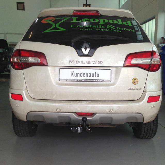 13polig neu Für Renault Koleos 09.08-02.17 AUTO HAK Anhängerkupplung abnehmbar