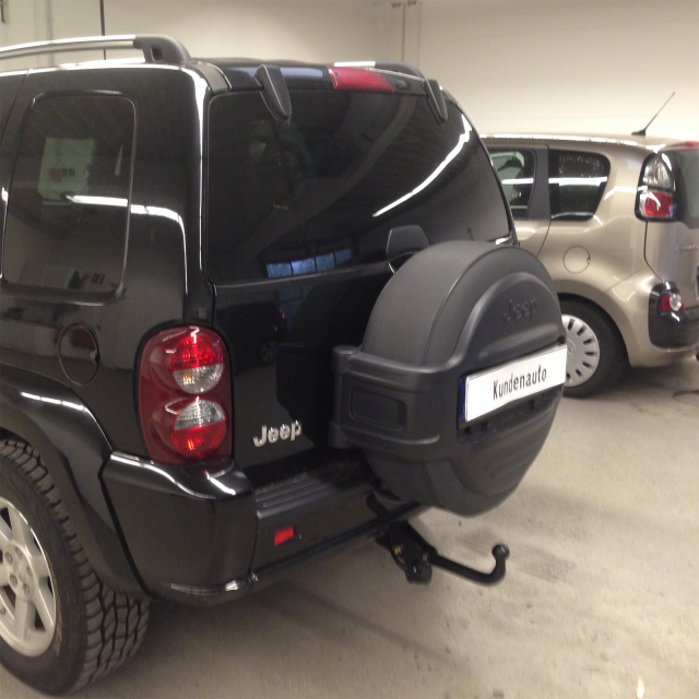 Für Chrysler Jeep Cherokee 14 AUTO HAK Anhängerkupplung starr 13polig E-Satz