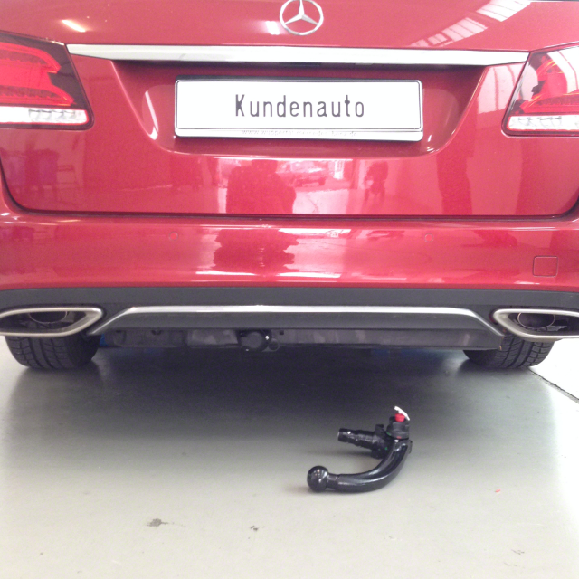 Neue abnehmbare Oris Anhängerkupplung für Mercedes E-Klasse Coupe 2009-2017 NEU