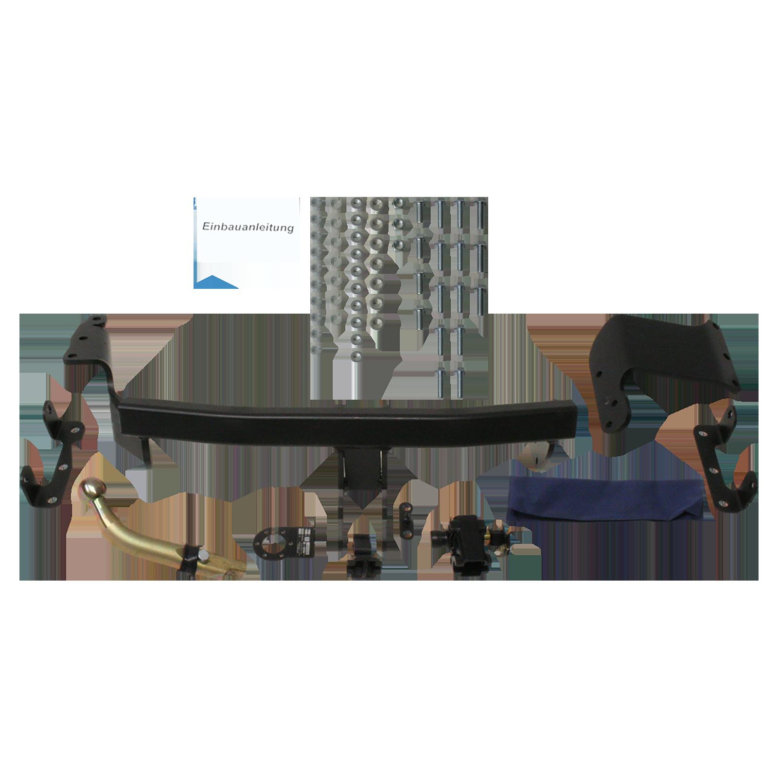 anhängerkupplung (anhängervorrichtung, -anbauteile) für mitsubishi