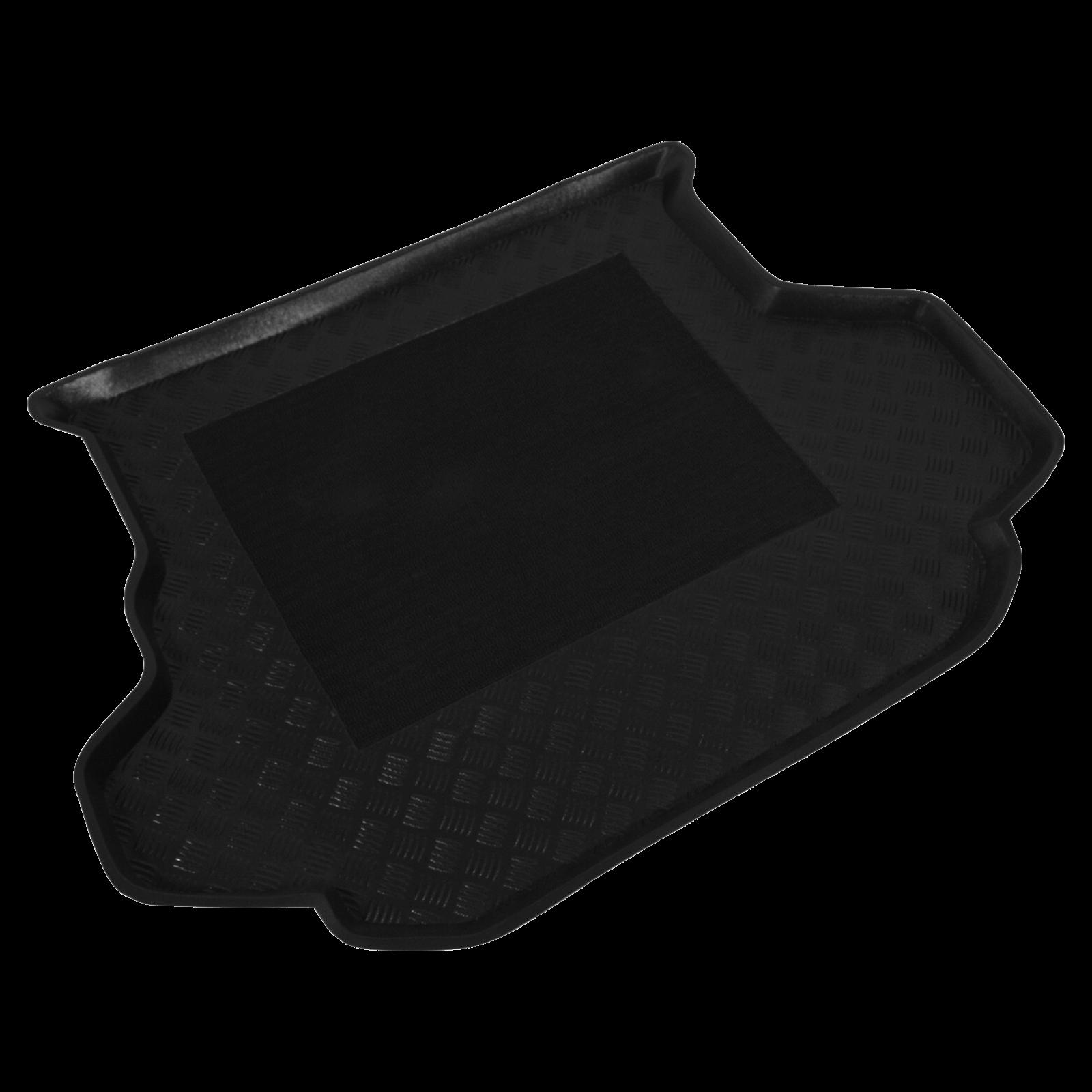 kofferraumwanne schwarz f r kia carens ii gro raumlimousine bj. Black Bedroom Furniture Sets. Home Design Ideas