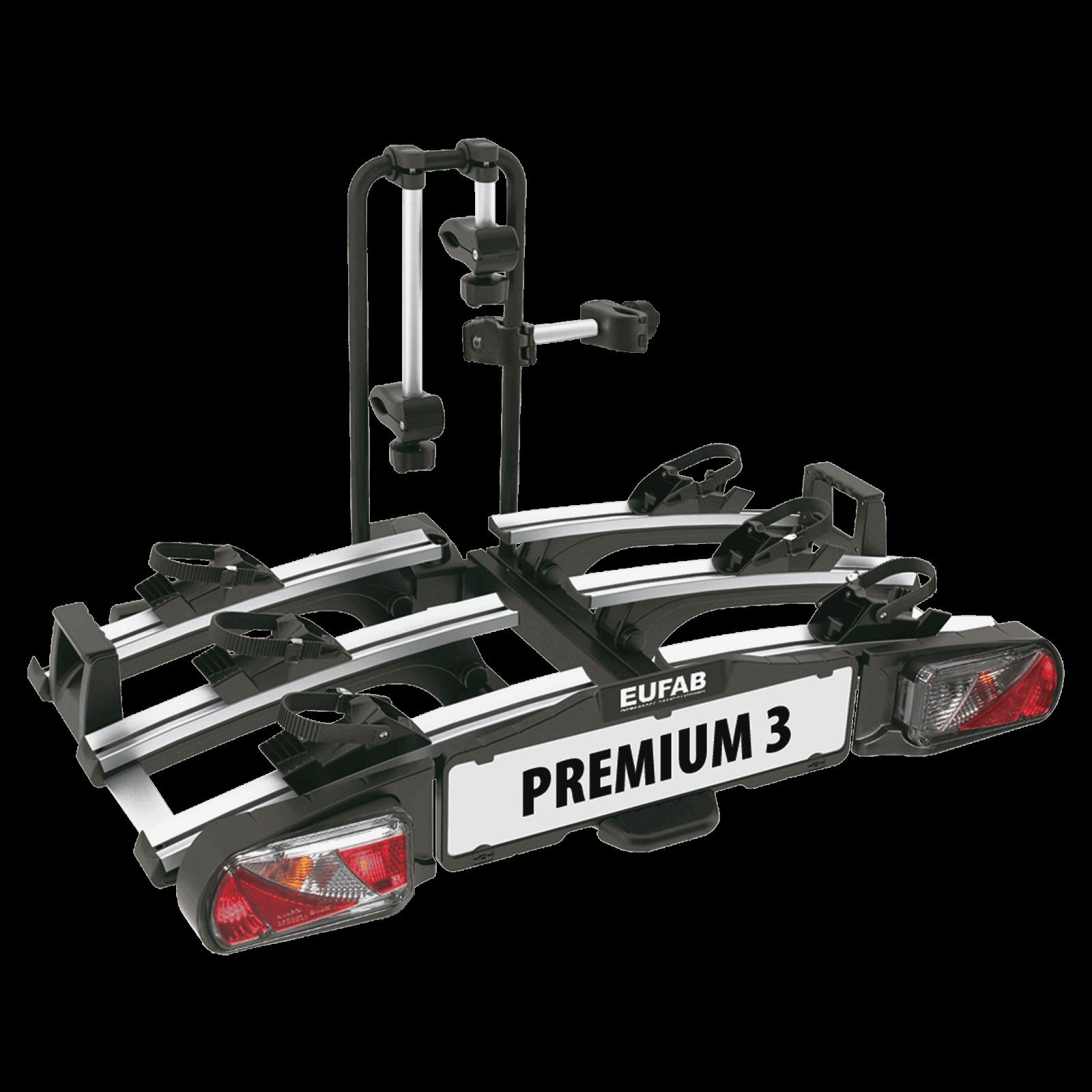 fahrradtr ger eufab premium iii f r 3 fahrr der montage auf der anh ngerkupplung nutzlast 60. Black Bedroom Furniture Sets. Home Design Ideas