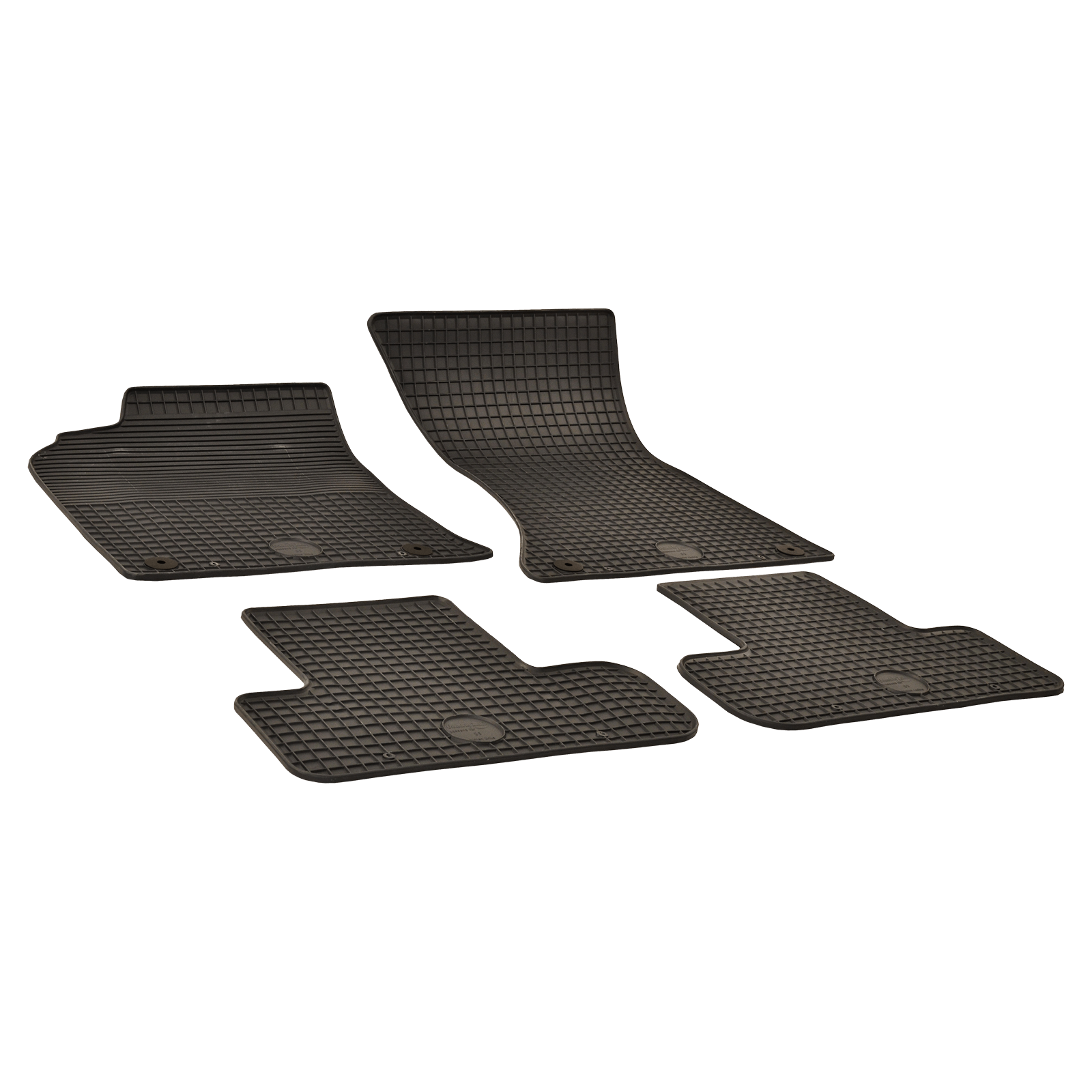 gummi fu matten schwarz f r audi q5 bj. Black Bedroom Furniture Sets. Home Design Ideas