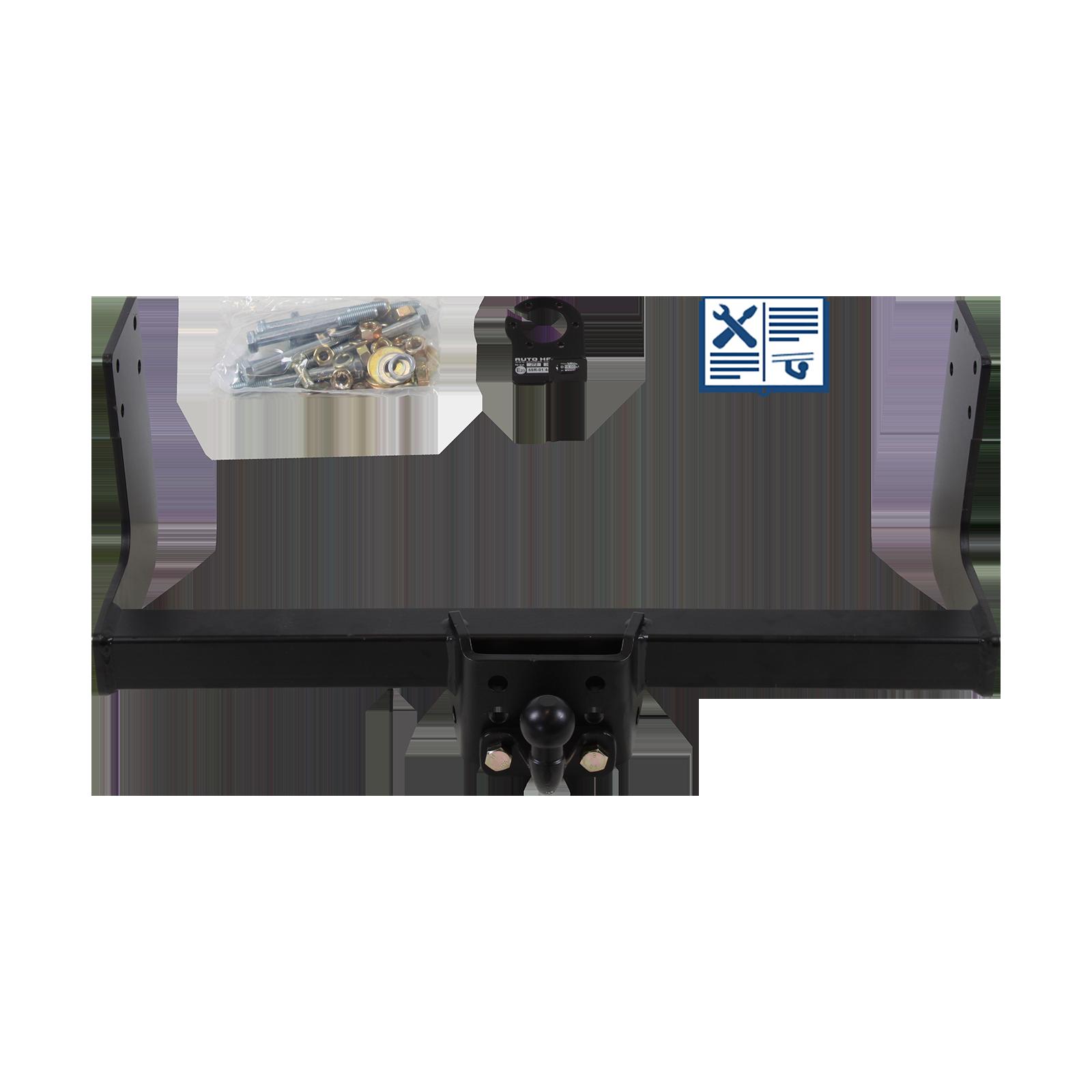 AUTO HAK Anhängebock inkl. E Satz 13polig spezifisch Adapter HYUNDAI H350 Kasten