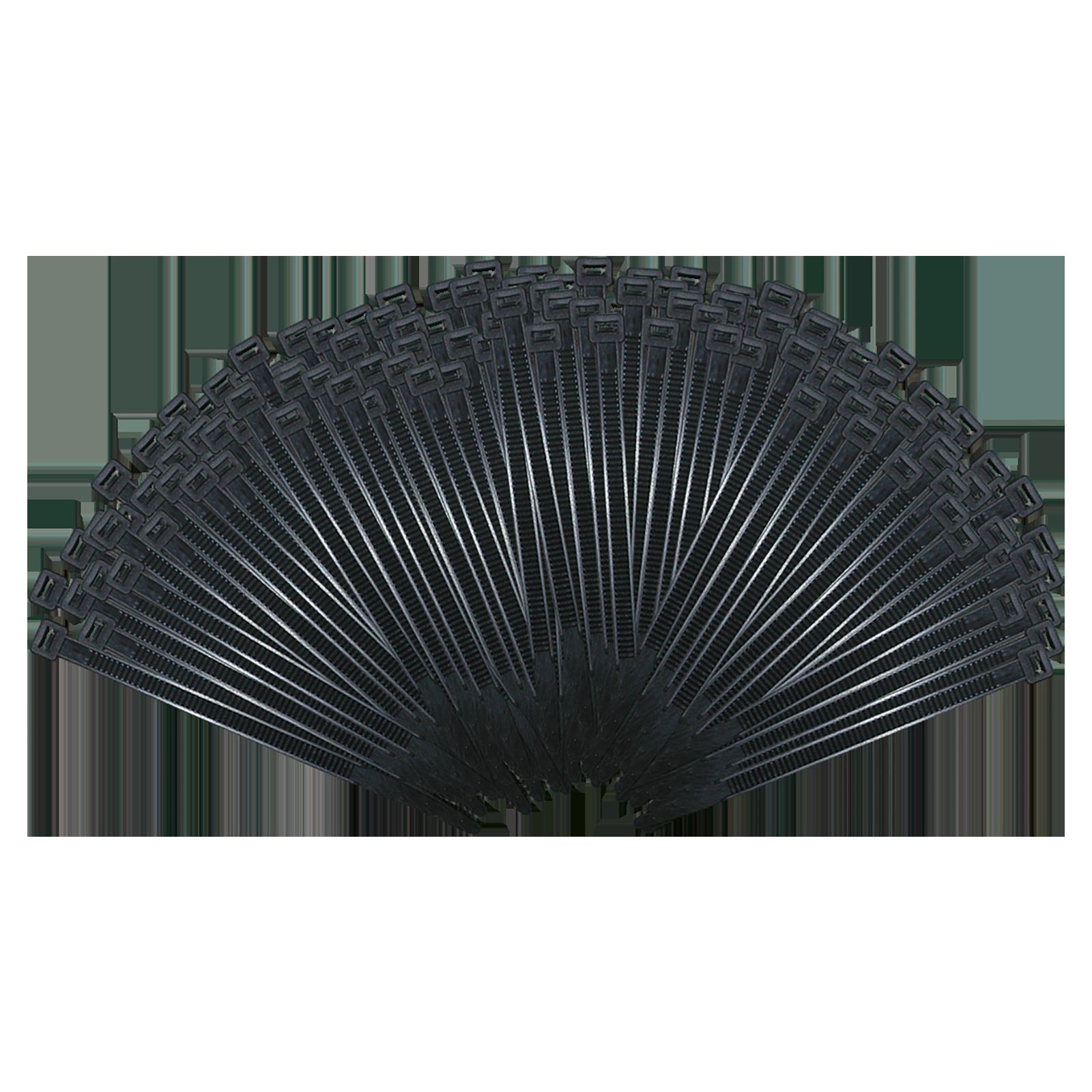 Kabelbinder 200 mm x 2,5 mm (LxB) - 100 Stück, schwarz bei Rameder