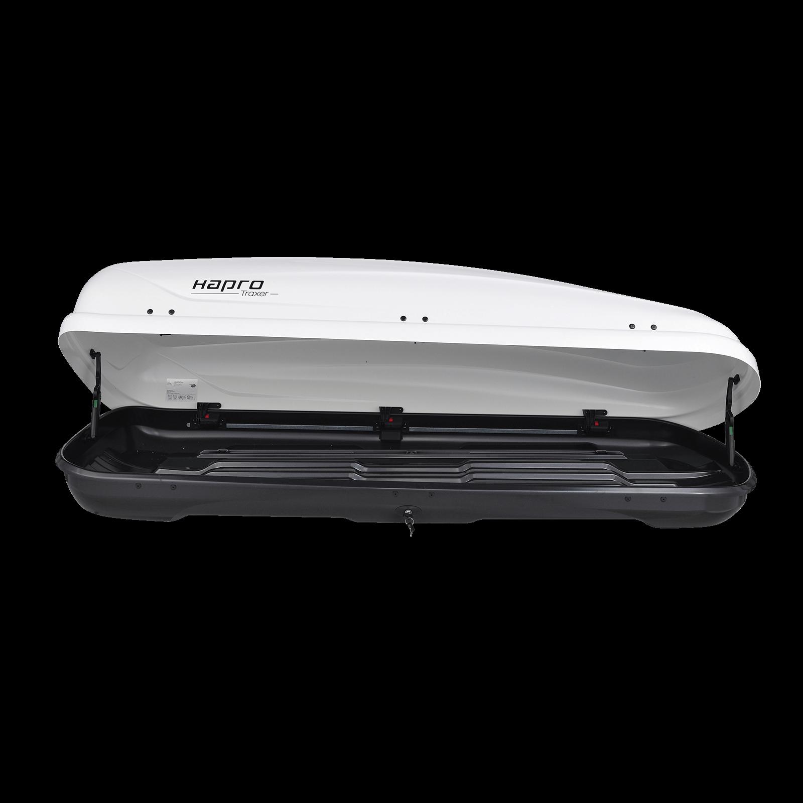 Dachbox Hapro Traxer 6.6 weiß - Bild 2