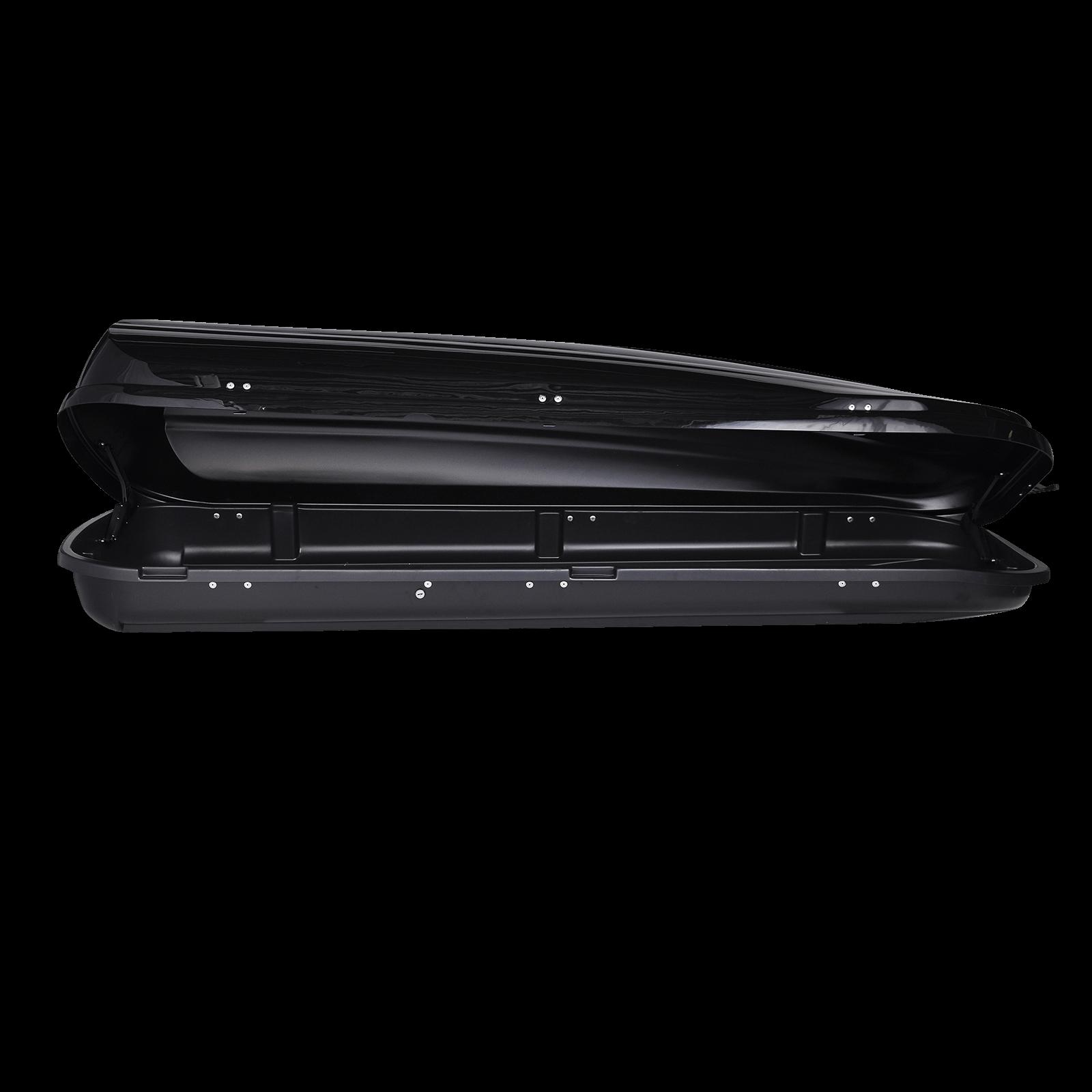 Dachbox Junior PRE 460 schwarz, glänzend - Bild 2