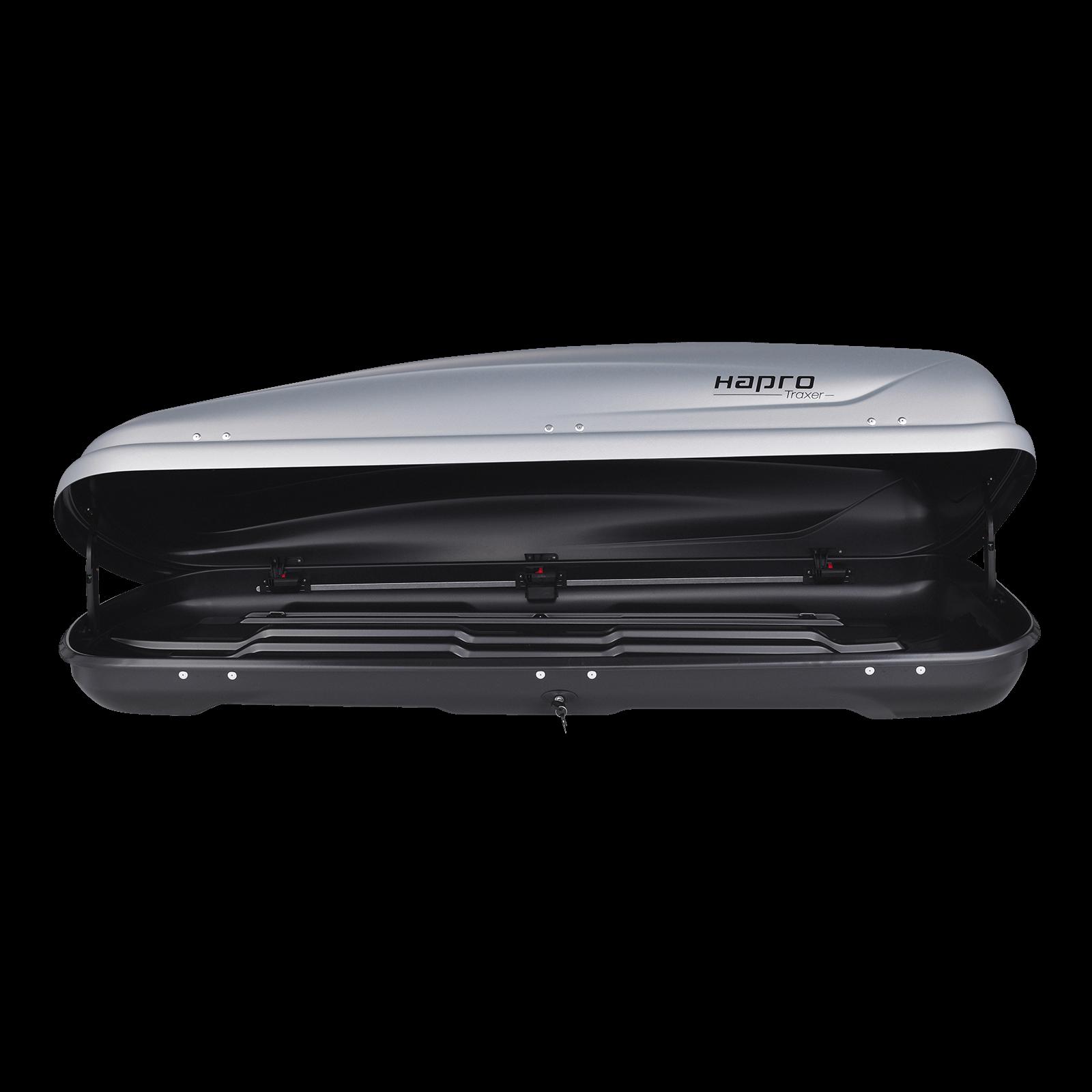 Dachbox Hapro Traxer 6.6 SilverGrey - Bild 2