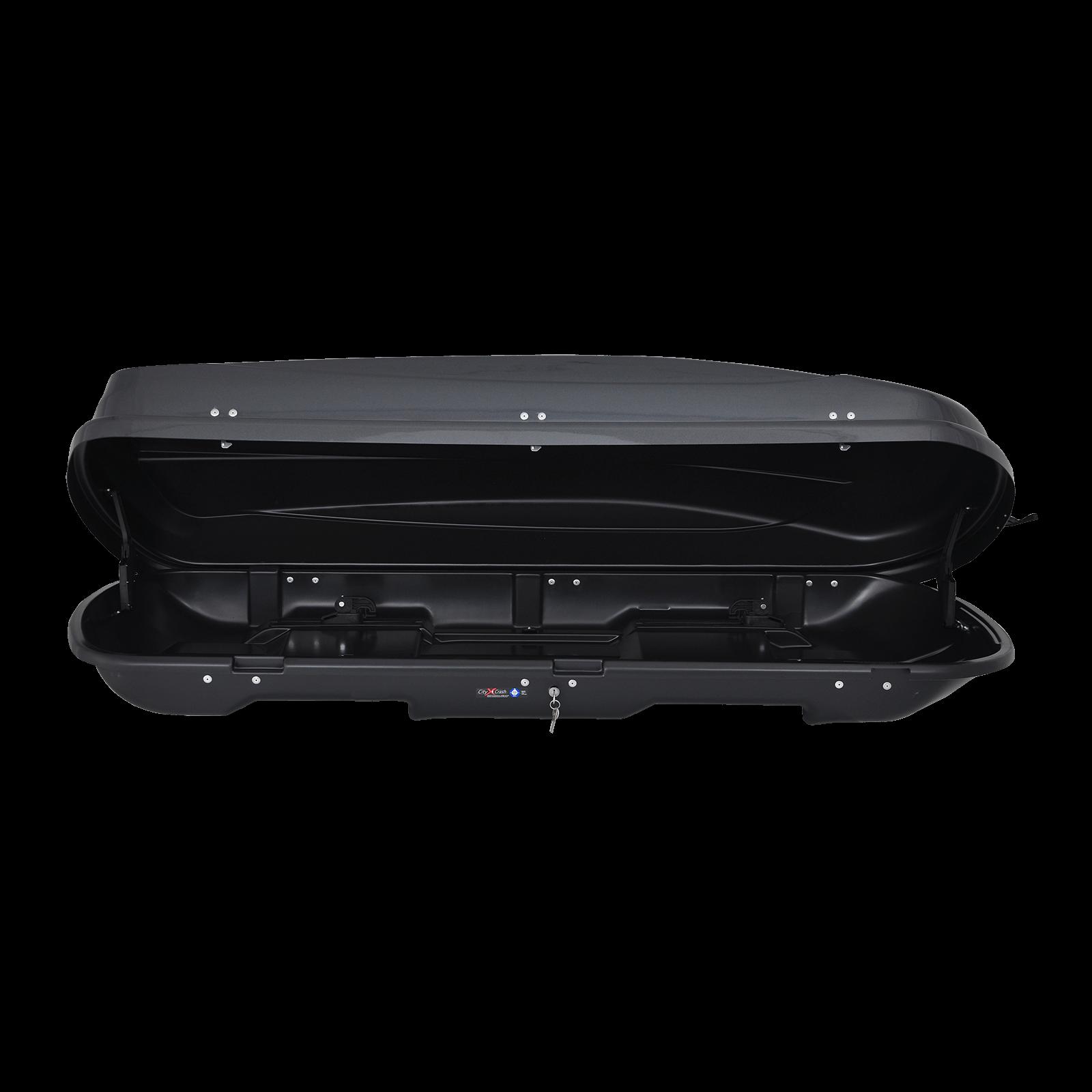 Dachbox Junior Xtreme 450 Dark glossy grey - Bild 2