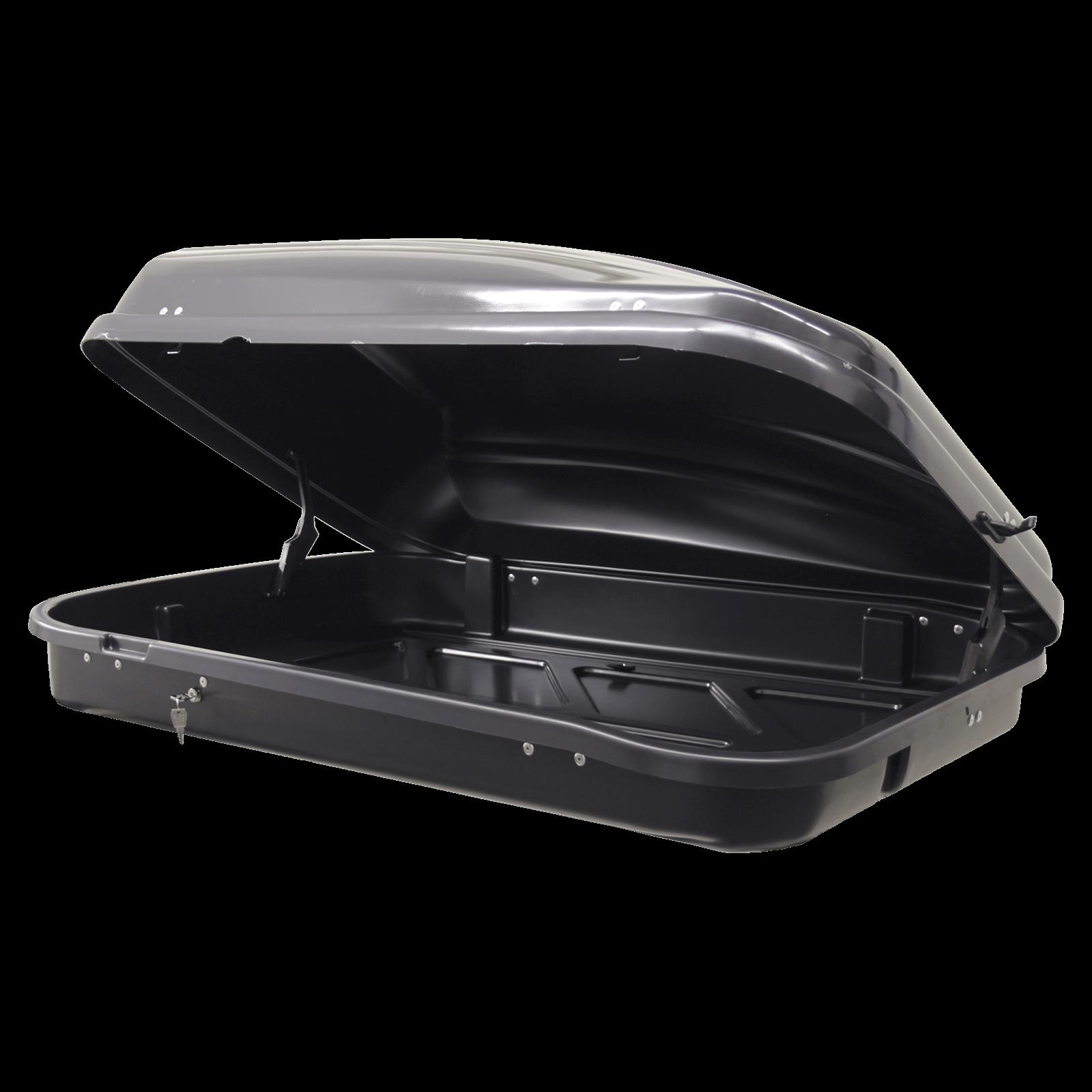 Dachbox Junior PRE 420 schwarz glänzend - Bild 2