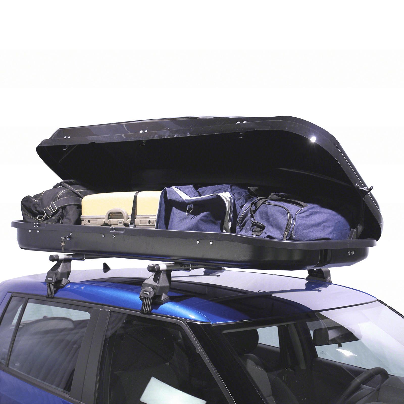 Dachbox Junior PRE 480 schwarz glänzend - Bild 2