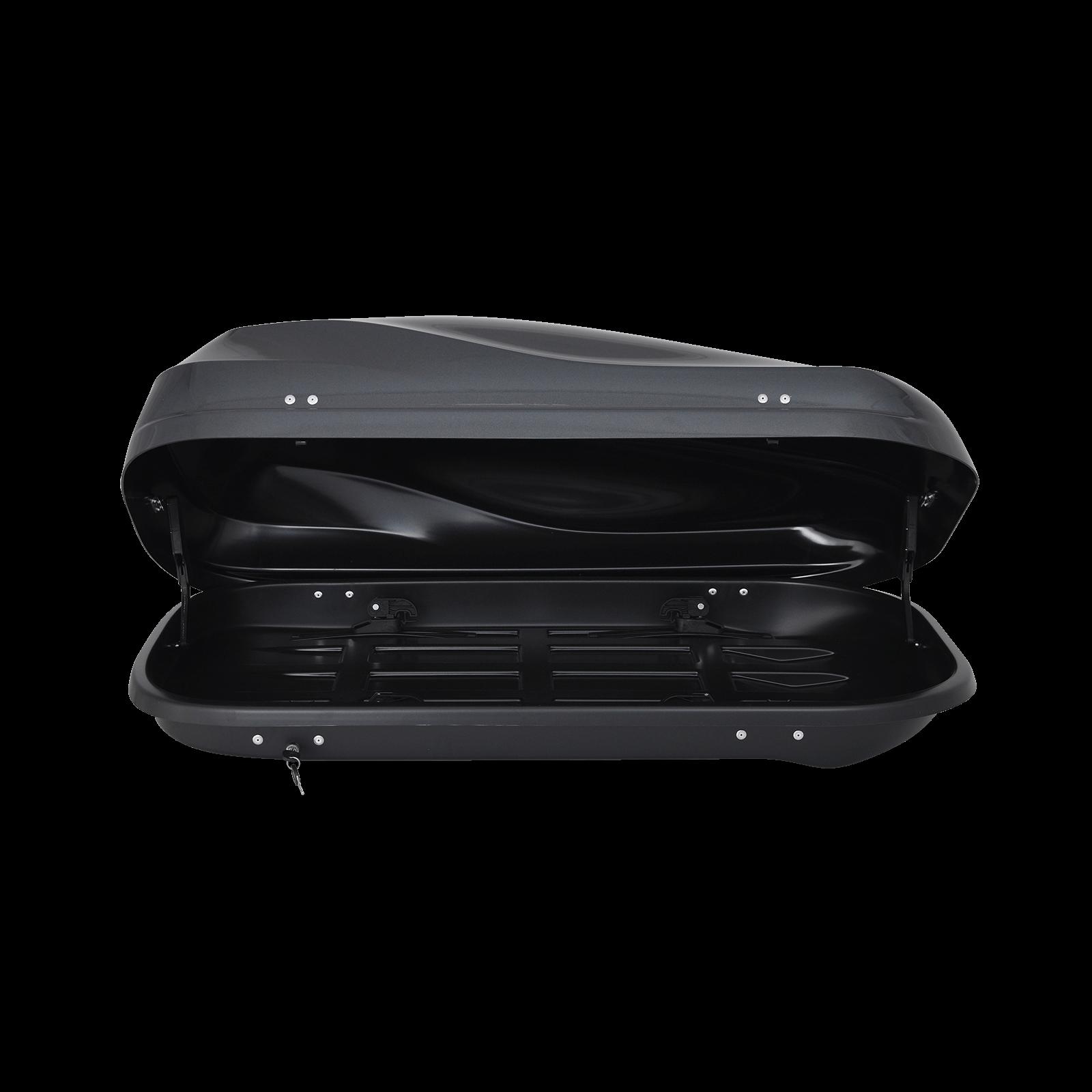 Dachbox Junior Altro 370 grau glänzend - Bild 2