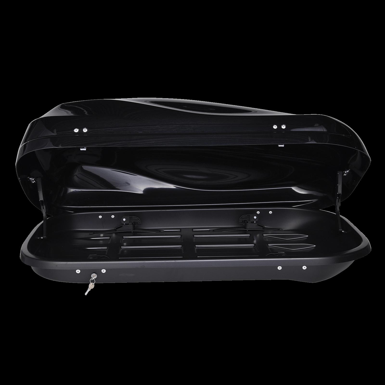 Dachbox Junior Altro 370 schwarz glänzend - Bild 2