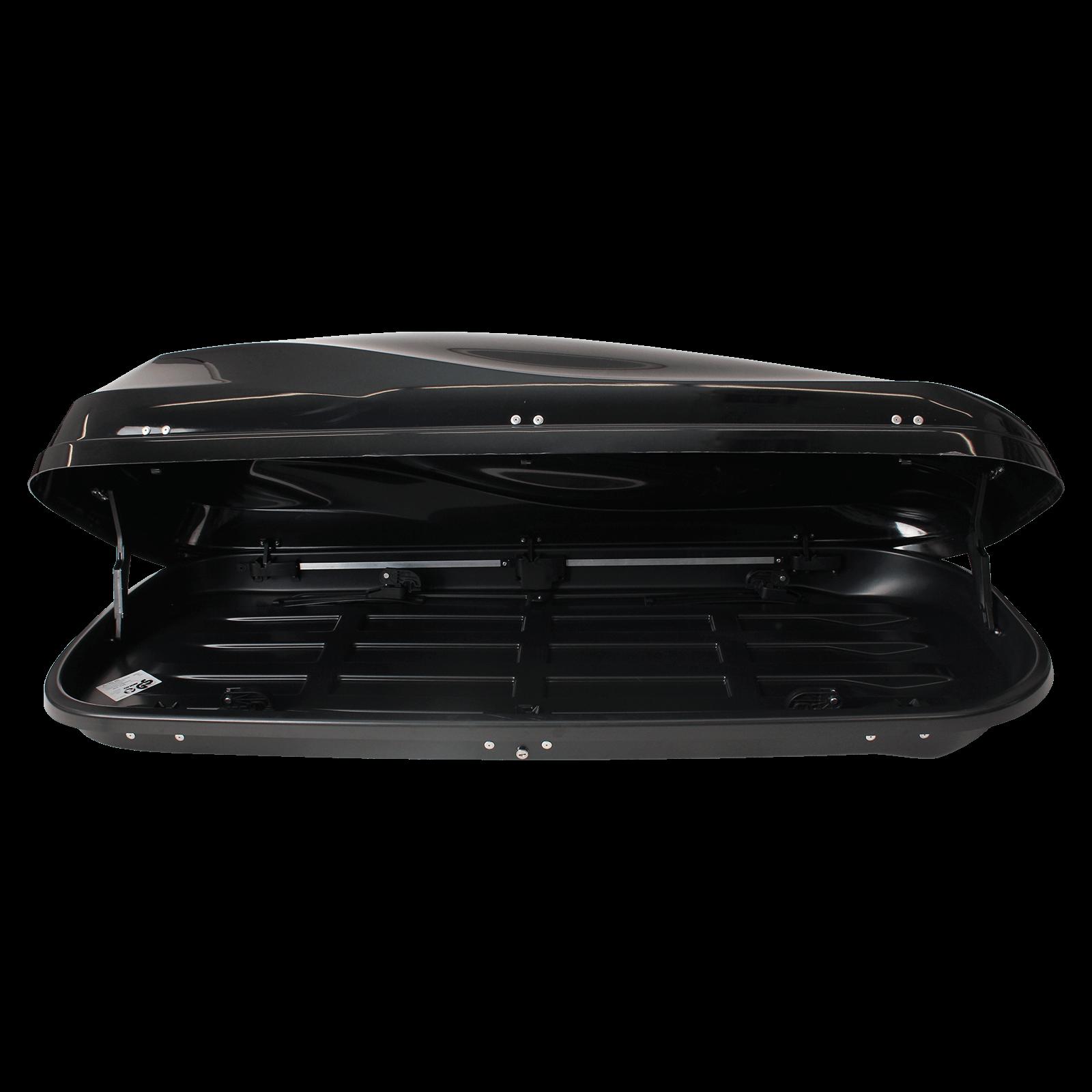 Dachbox Junior Altro 460 schwarz glänzend - Bild 2
