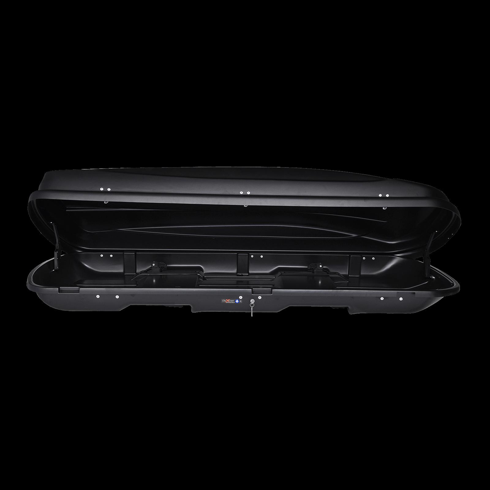 Dachbox Junior Xtreme 500 schwarz matt - Bild 2