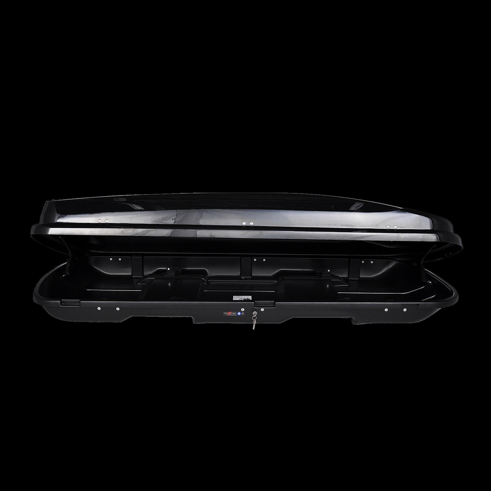 Dachbox Junior Xtreme 500 schwarz glänzend - Bild 2