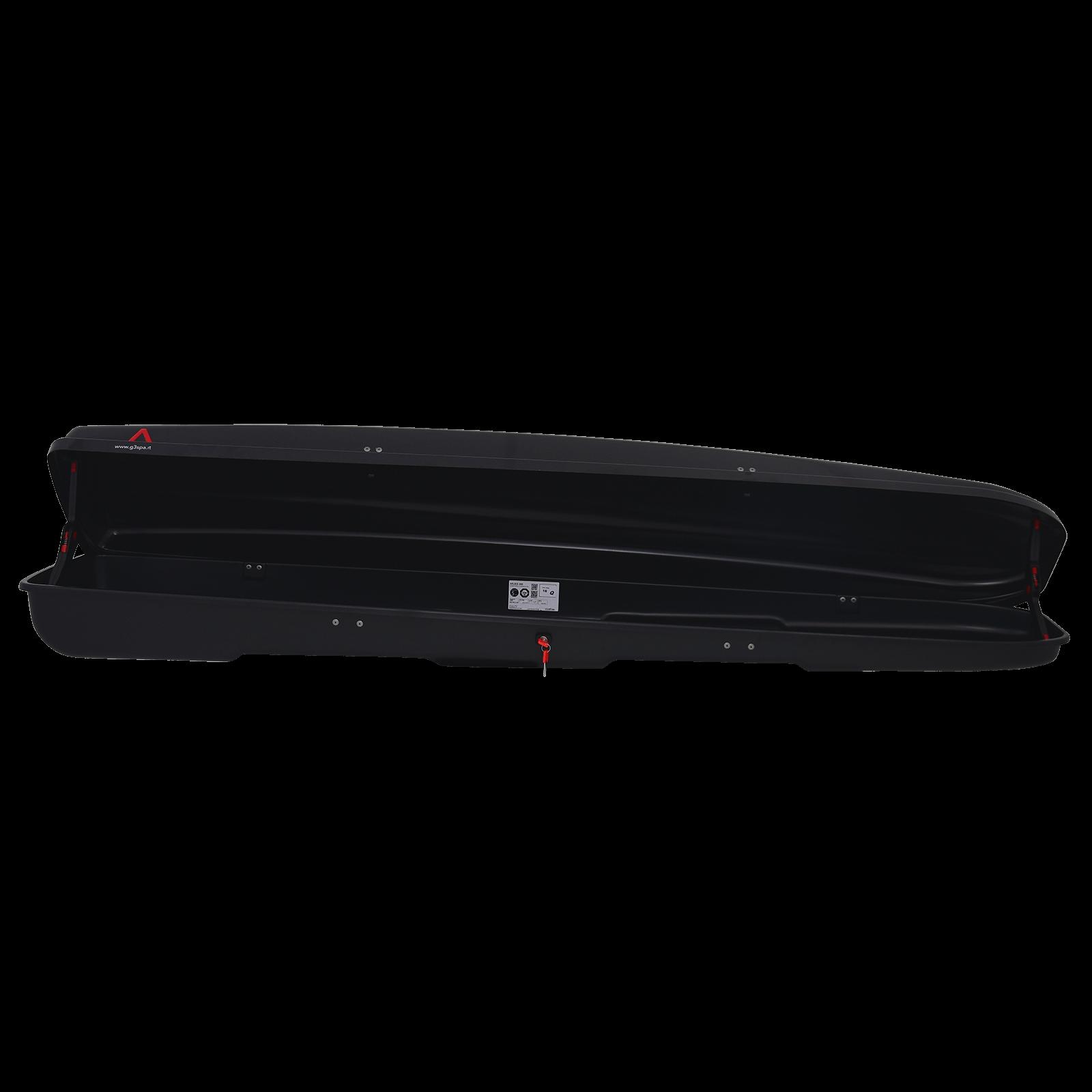Dachbox G3 Arjes 280 schwarz glänzend - Bild 2
