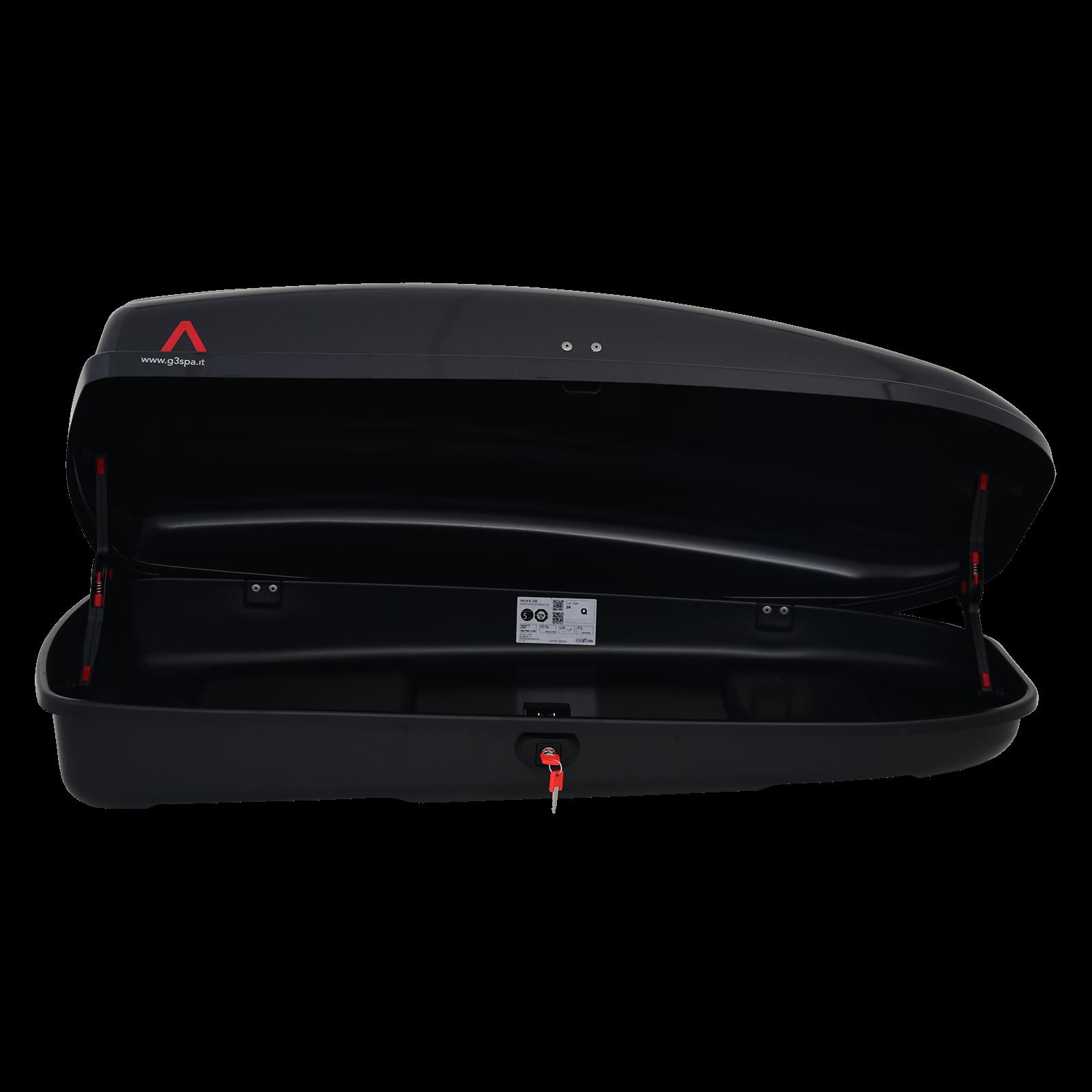 Dachbox G3 Arjes 320 schwarz glänzend - Bild 2