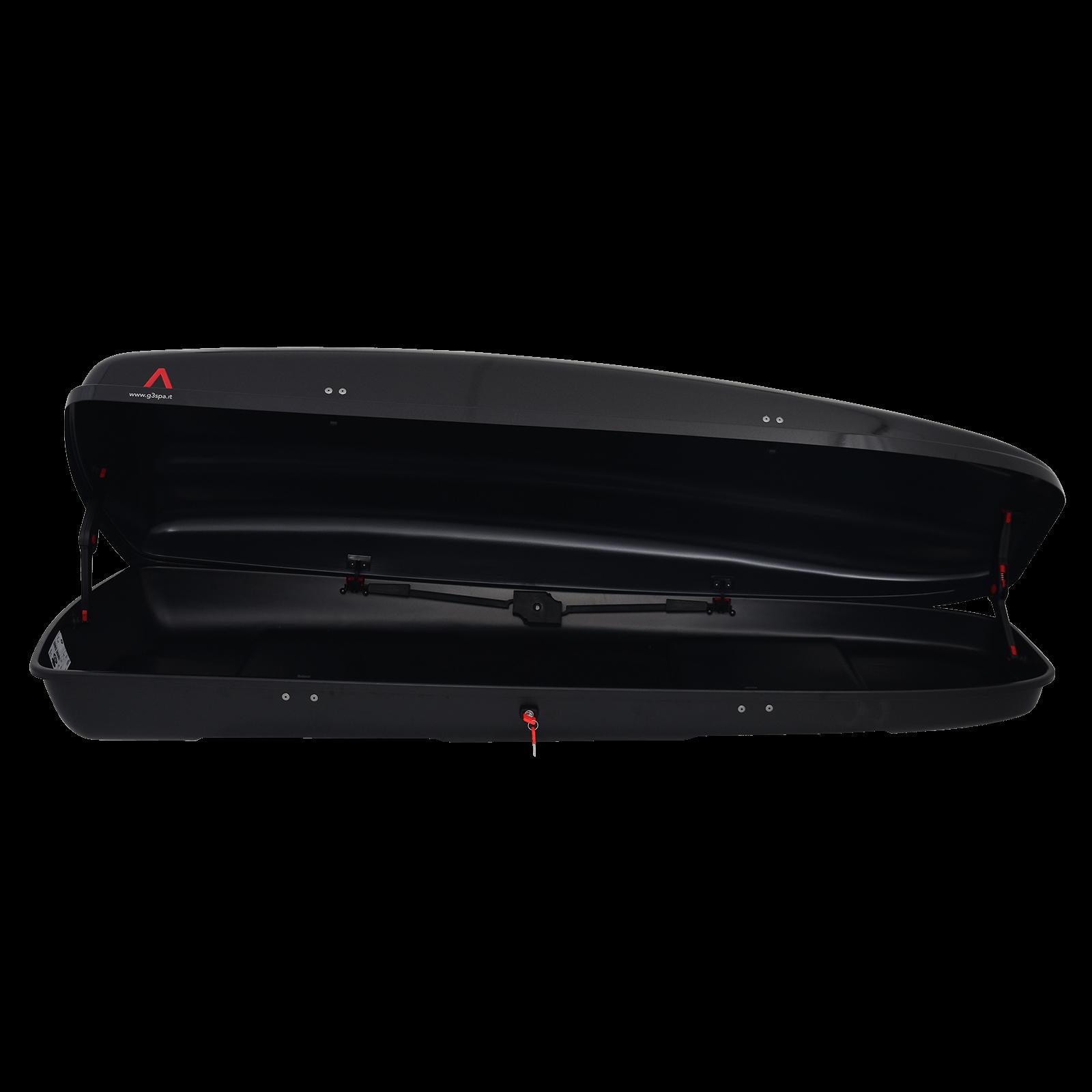 Dachbox G3 Arjes 480 schwarz glänzend - Bild 2