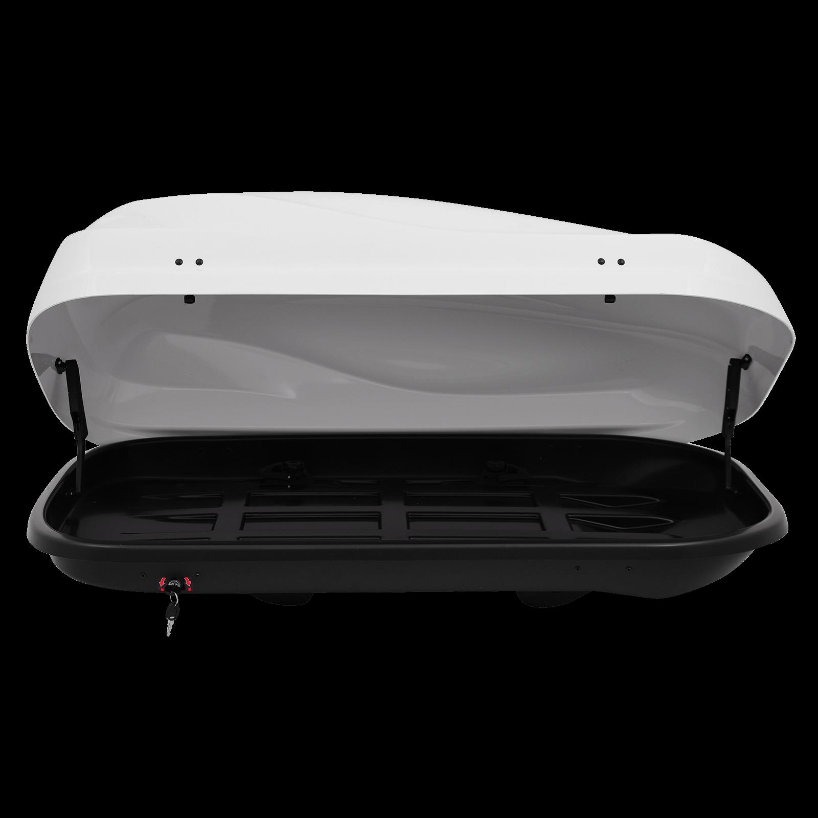 Dachbox Junior Altro 370 weiß glänzend - Bild 2