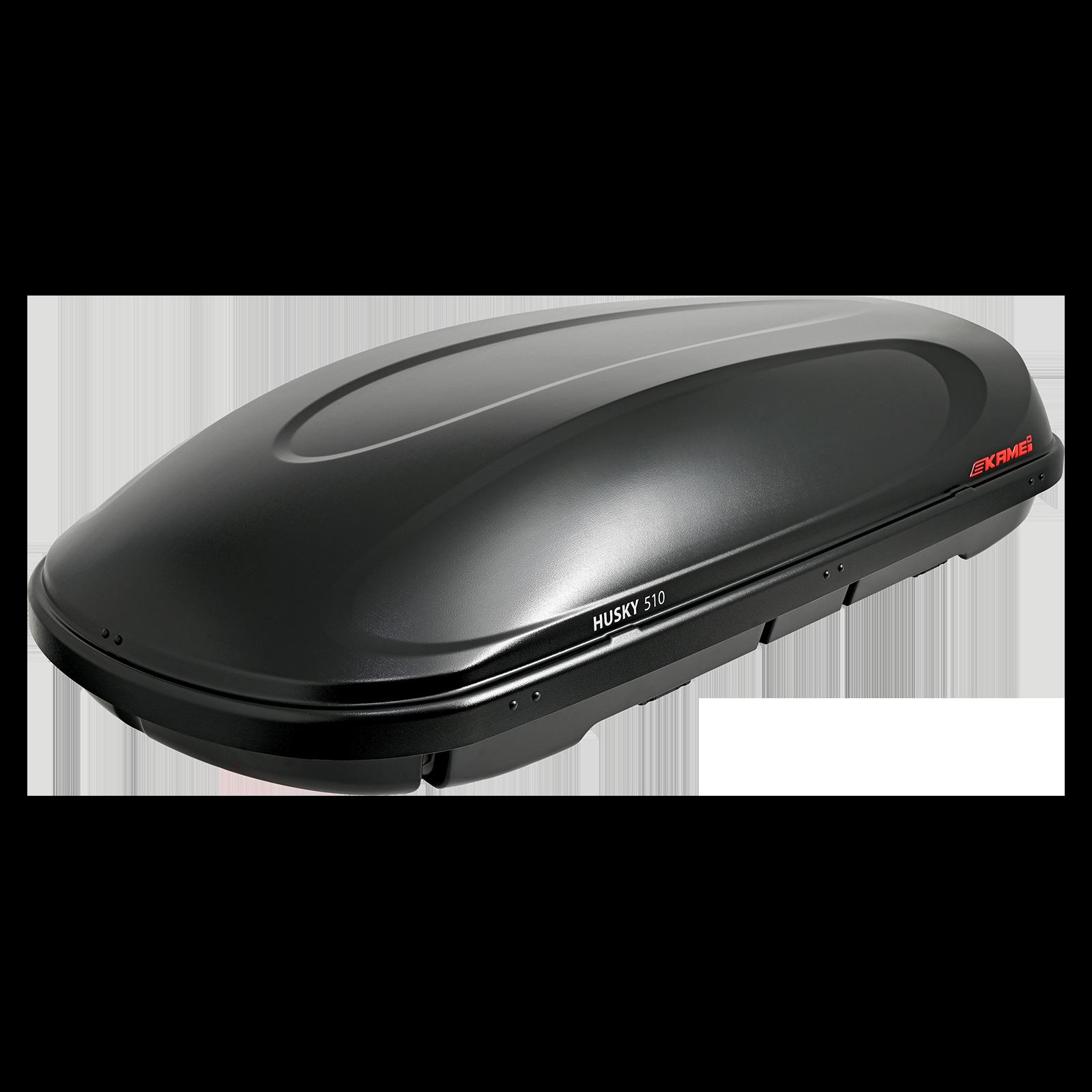 Dachbox Kamei Husky 330 schwarz matt - Bild 2