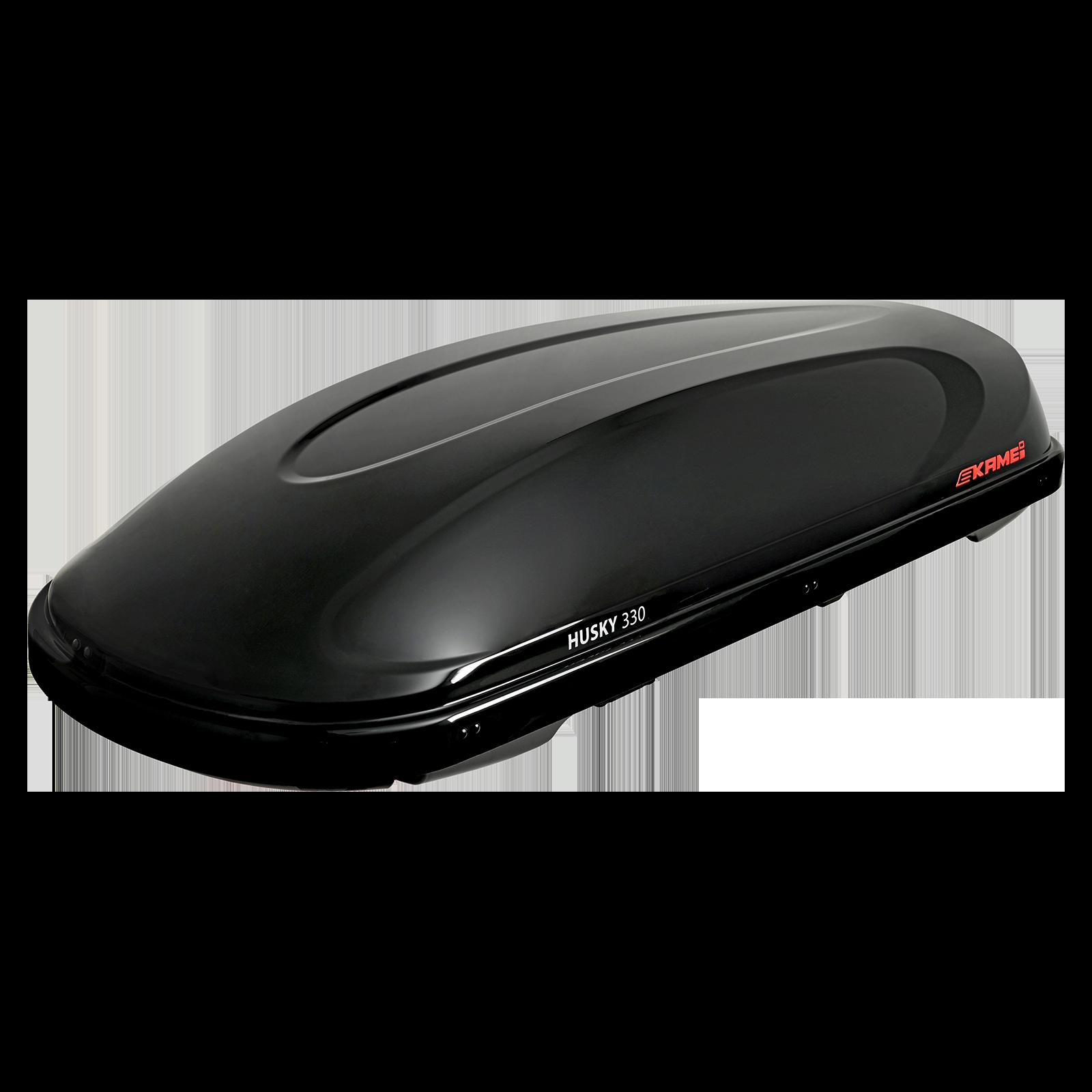 Dachbox Kamei Husky 330 schwarz glänzend - Bild 2