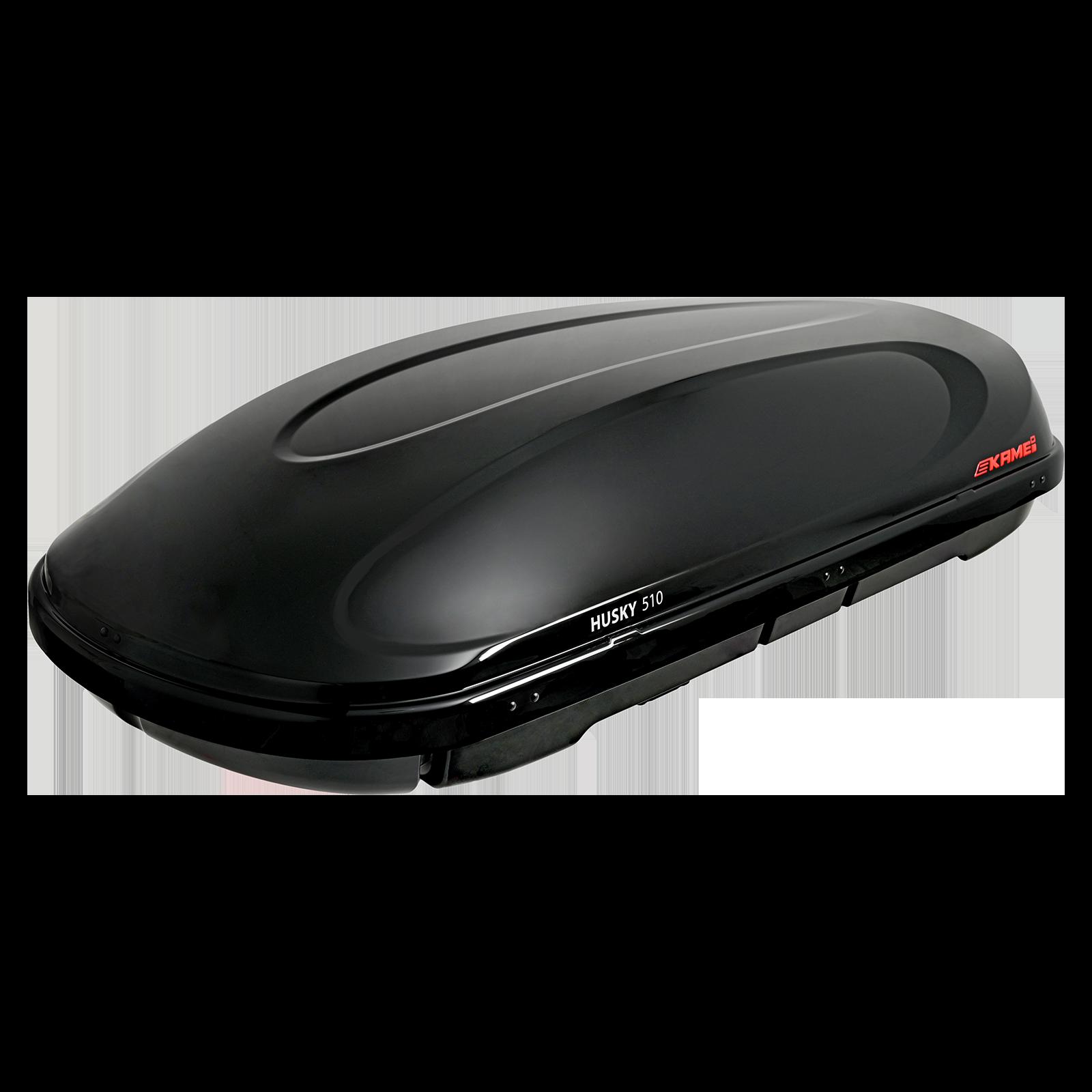 Dachbox Kamei Husky 510 schwarz matt - Bild 2