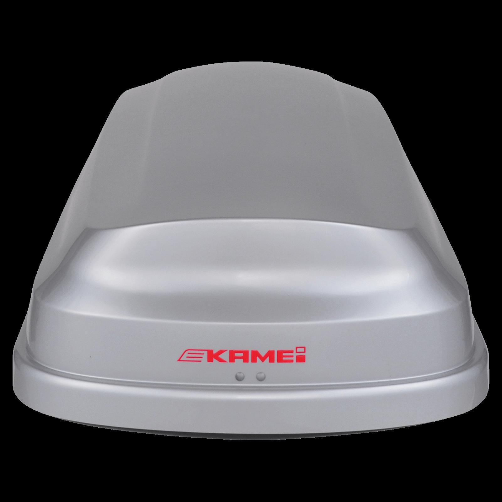 Dachbox Kamei Corvara S 390 grau, silber - Bild 3