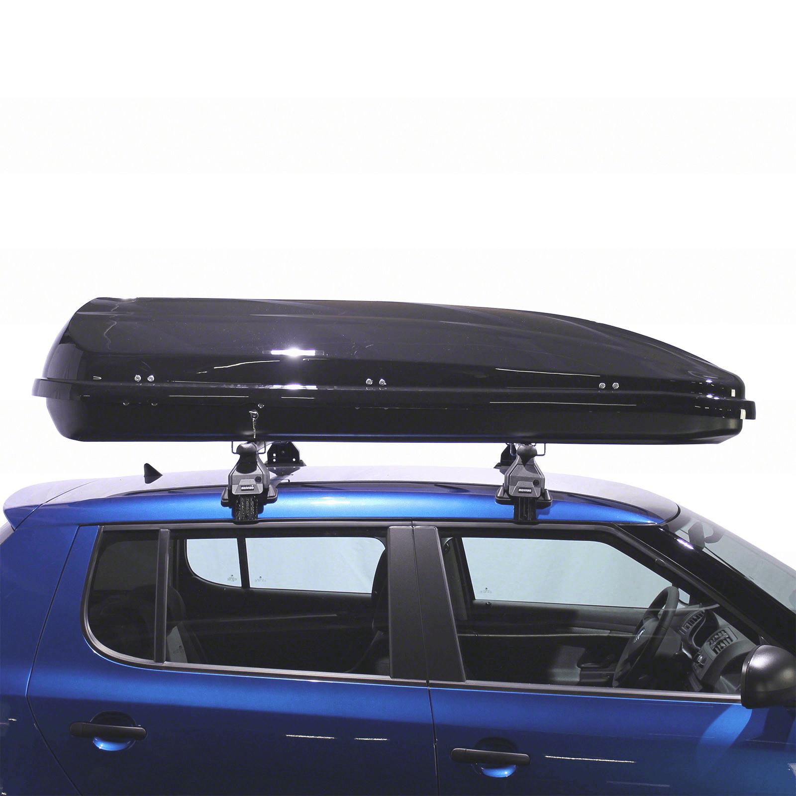 Dachbox Junior PRE 480 schwarz glänzend - Bild 3