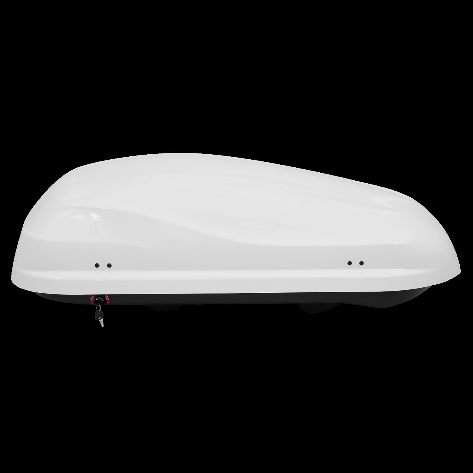 Dachbox Junior Altro 370 weiß glänzend - Bild 4