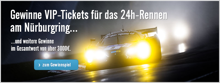 Gewinne VIP-Karte für den Nürburgring.