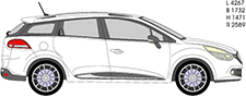 CLIO IV Grandtour (KH_)