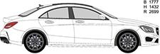 CLA Coupe (C117)