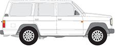 PATROL III/1 Station Wagon (W160)