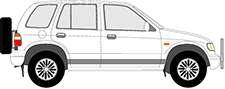SPORTAGE Geländewagen geschlossen (K00)