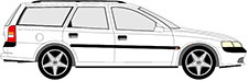VECTRA B Caravan (J96)