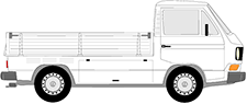 TRANSPORTER T3 Pritsche/Fahrgestell