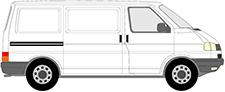 TRANSPORTER T4 Kasten (70A, 70H, 7DA, 7DH)